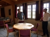 Tasting room at the Syndicat des Producteurs de Chateaneuf